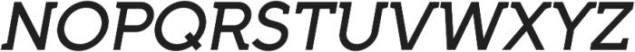 Full Neue SC 70 Medium Italic otf (500) Font UPPERCASE