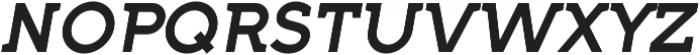 Full Neue SC 70 Medium Italic otf (500) Font LOWERCASE