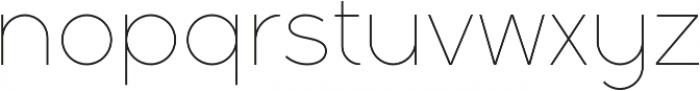 Full Sans LC 10 Thin otf (100) Font LOWERCASE