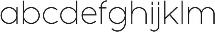 Full Sans LC 30 Light otf (300) Font LOWERCASE