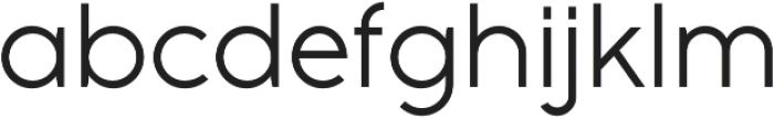 Full Sans LC 50 Book otf (400) Font LOWERCASE