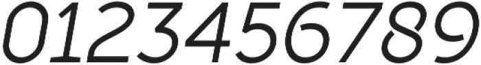 Full Sans LC 50 Italic otf (400) Font OTHER CHARS