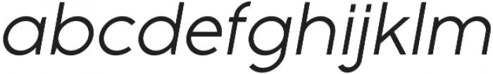 Full Sans LC 50 Italic otf (400) Font LOWERCASE