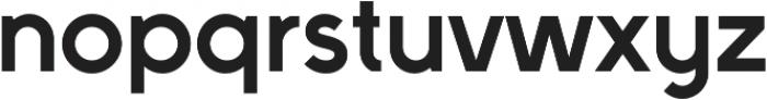 Full Sans LC 90 Bold otf (700) Font LOWERCASE