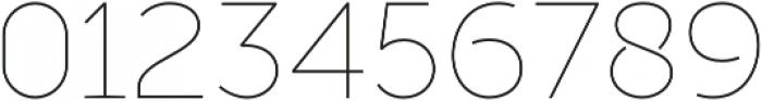 Full Sans SC 10 Thin otf (100) Font OTHER CHARS