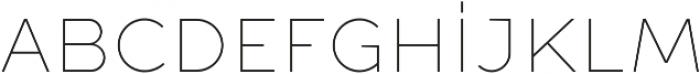 Full Sans SC 10 Thin otf (100) Font LOWERCASE