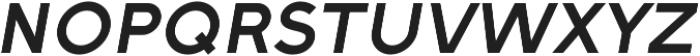 Full Sans SC 70 Medium Italic otf (500) Font LOWERCASE