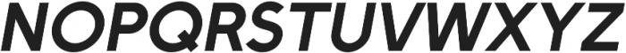 Full Sans SC 90 Bold Italic otf (700) Font UPPERCASE
