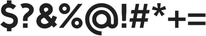Full Sans SC 90 Bold otf (700) Font OTHER CHARS