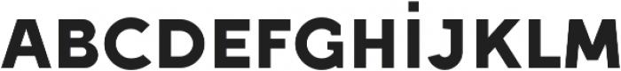 Full Sans SC 90 Bold otf (700) Font LOWERCASE