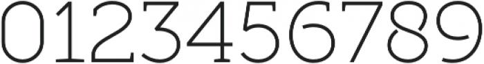 Full Slab LC 30 Light otf (300) Font OTHER CHARS