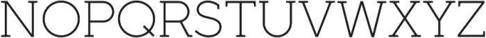 Full Slab SC 30 Light otf (300) Font UPPERCASE