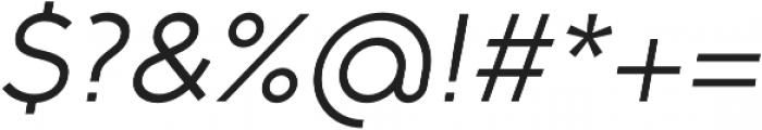 Full Slab SC 50 Italic otf (400) Font OTHER CHARS