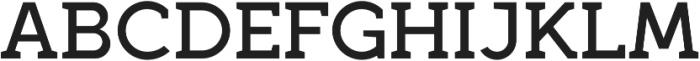 Full Slab SC 70 Medium otf (500) Font UPPERCASE