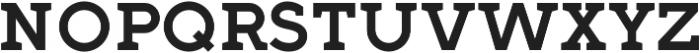 Full Slab SC 70 Medium otf (500) Font LOWERCASE