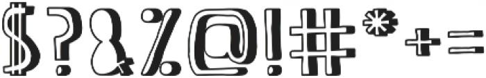 Full-of-It ttf (400) Font OTHER CHARS
