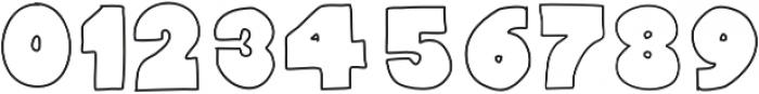 Fullford Stroke otf (400) Font OTHER CHARS