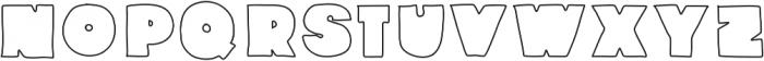 Fullford Stroke otf (400) Font UPPERCASE