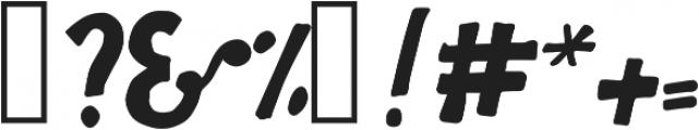 FunBlocksBlack ttf (900) Font OTHER CHARS