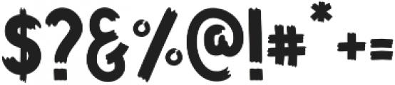 Funbold otf (700) Font OTHER CHARS