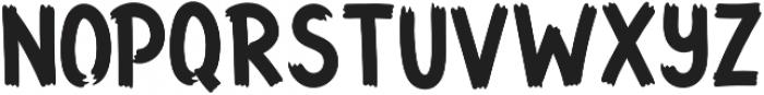 Funbold otf (700) Font UPPERCASE