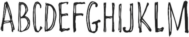 Funcard otf (400) Font UPPERCASE