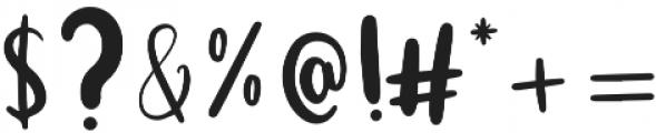 Funfetti otf (400) Font OTHER CHARS
