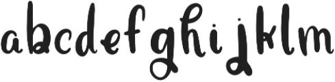 Funfetti otf (400) Font LOWERCASE