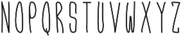 Funky ttf (400) Font LOWERCASE