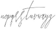 Funtastic Youth Script otf (400) Font LOWERCASE