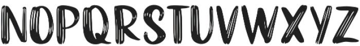 Funtery Sans otf (400) Font UPPERCASE