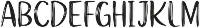 Funtery Sans otf (400) Font LOWERCASE