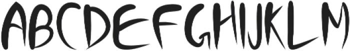 Funtos otf (400) Font LOWERCASE