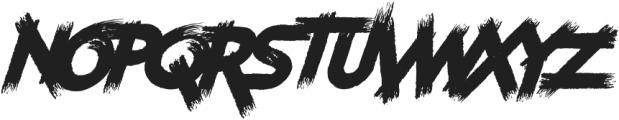 Furiosa Drive ttf (400) Font UPPERCASE