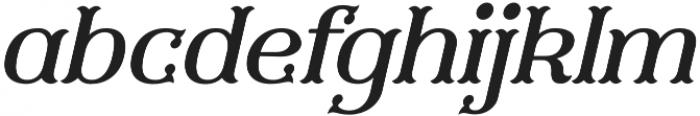 Furius Title Italic otf (400) Font LOWERCASE