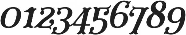 Furius Title Italic ttf (400) Font OTHER CHARS