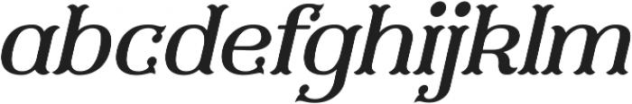 Furius Title Italic ttf (400) Font LOWERCASE
