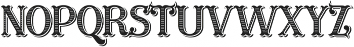 Furius Title ttf (400) Font UPPERCASE