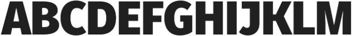 Fuse Black otf (900) Font UPPERCASE