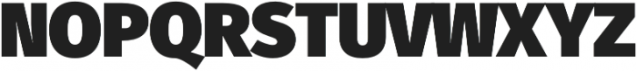 Fuse UltraBlack otf (900) Font UPPERCASE