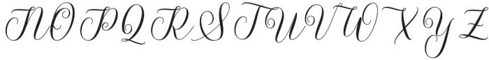Futsal Script Regular otf (400) Font UPPERCASE