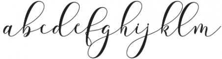 Futsal Script Regular otf (400) Font LOWERCASE