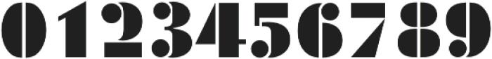 Futura Black D Regular otf (900) Font OTHER CHARS