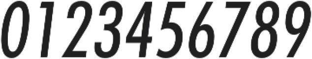 Futura Cond Medium Oblique otf (500) Font OTHER CHARS