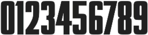 Futura Display Compress D Regular otf (400) Font OTHER CHARS