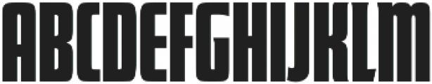 Futura Display Compress D Regular otf (400) Font UPPERCASE