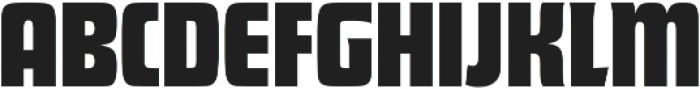 Futura Display D Regular otf (400) Font UPPERCASE