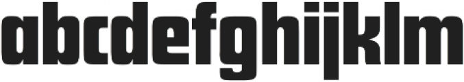 Futura Display D Regular otf (400) Font LOWERCASE