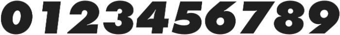 Futura Extra Bold Oblique otf (700) Font OTHER CHARS