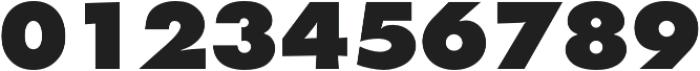 Futura Extra Bold otf (700) Font OTHER CHARS